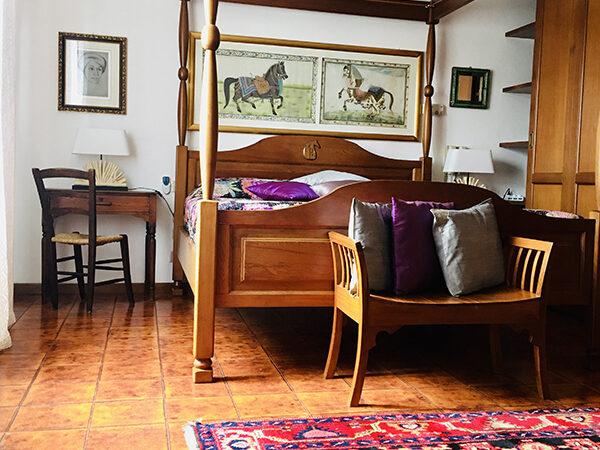 Camera Matrimoniale Deluxe vista Piscina - Villa a Castiglione della Pescaia (17)